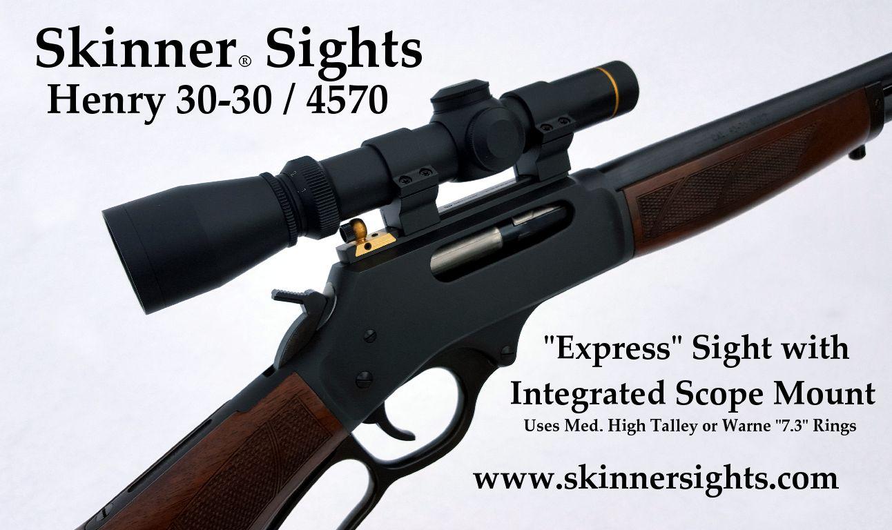 henry rifles scope marlin mount sight express sights skinner mounts frame worlds both want sm